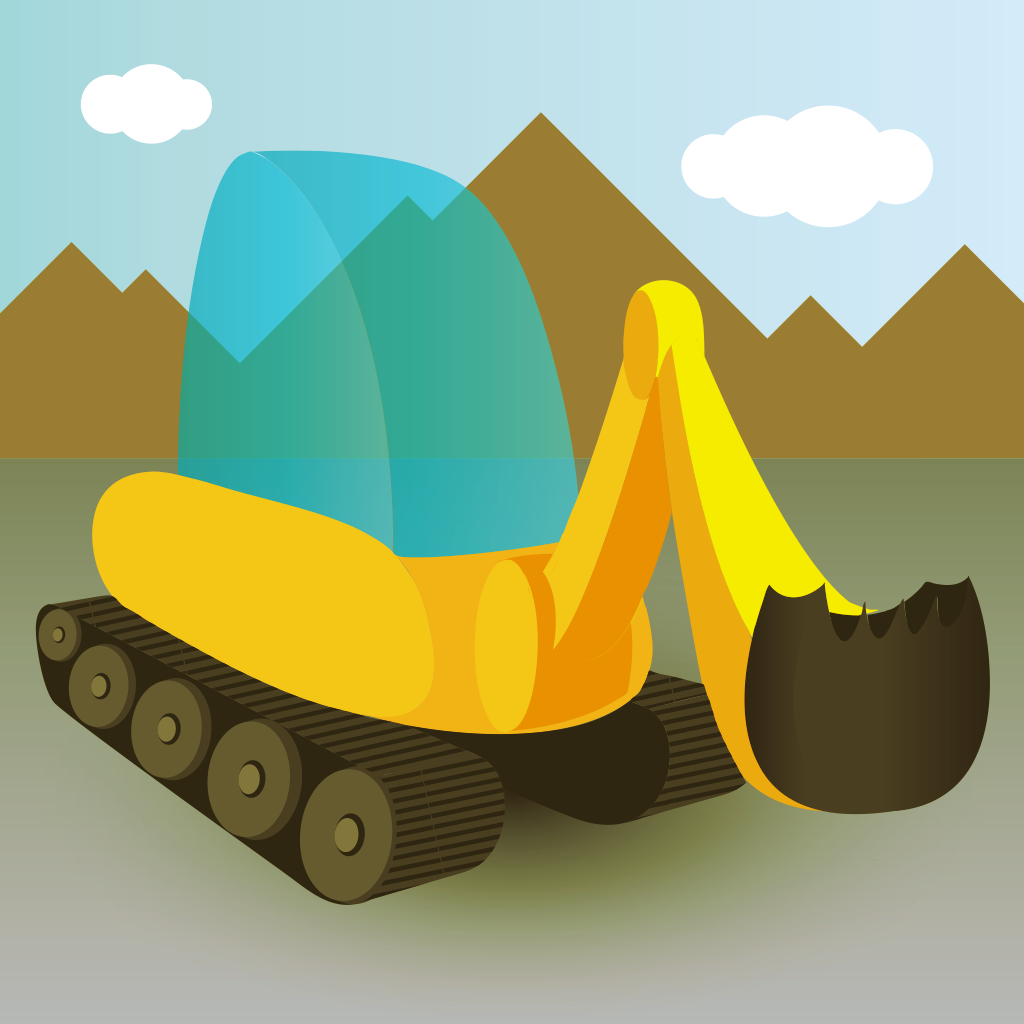 trucks and diggers app
